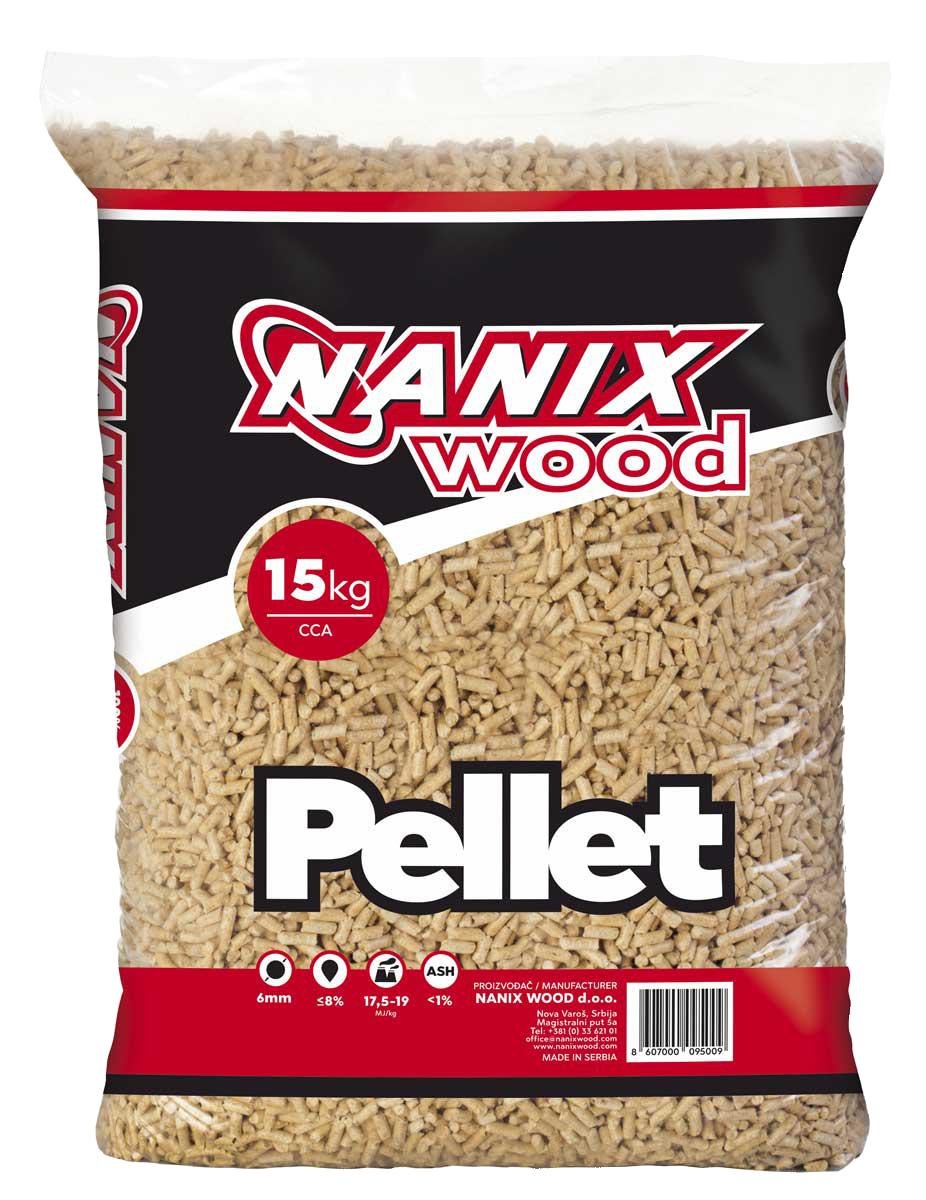 Pelet vrhunskog kvaliteta nanix wood